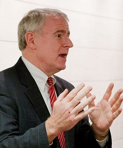 Democratic gubernatorial candidate Tom Barrett, photo by Spreenkler via Flickr. (CC Lic.)