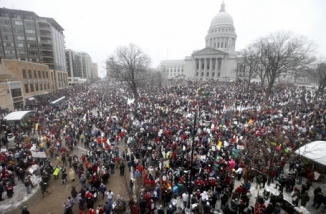 wisconsin-capitol-protests1Todd Michael Wilcox